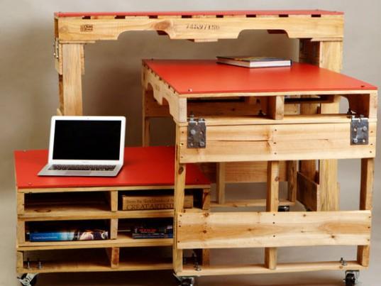 Vtv Muebles Infantiles : Móveis e decoração de paletes madeira um show