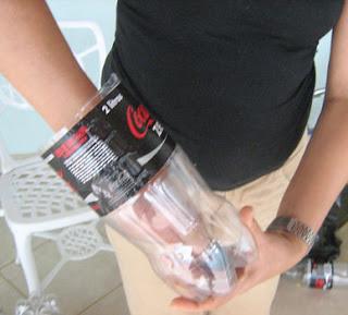 puff feito com garrafa pet3