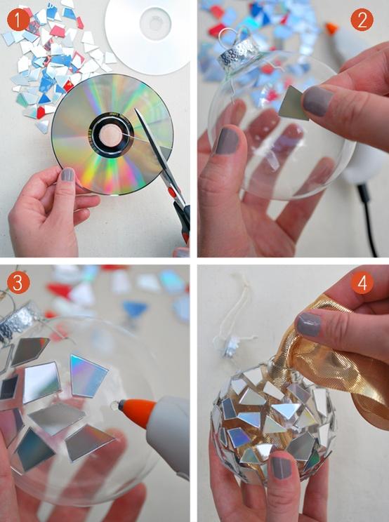Como Reciclar CDs Velhos Ideias Criativas Artesanatocom