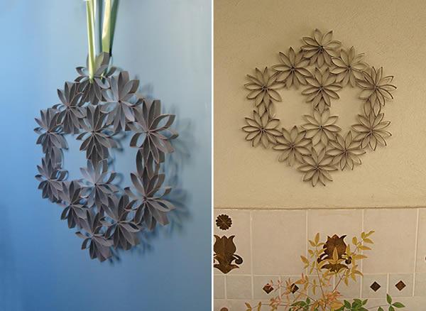 10 ideias de artesanatos com rolo de papel higi nico - Rollos de papel higienico decorados ...