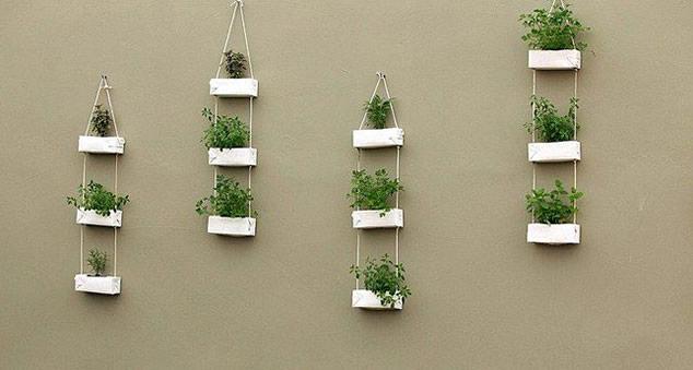 artesanato mini jardim:Artesanato com Caixas de Leite – Guia Completo Para Você Fazer