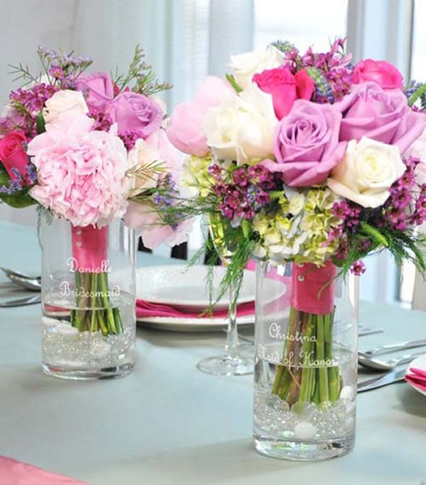 10 enfeites de mesa para casamento de arrasar for Flower for table decoration
