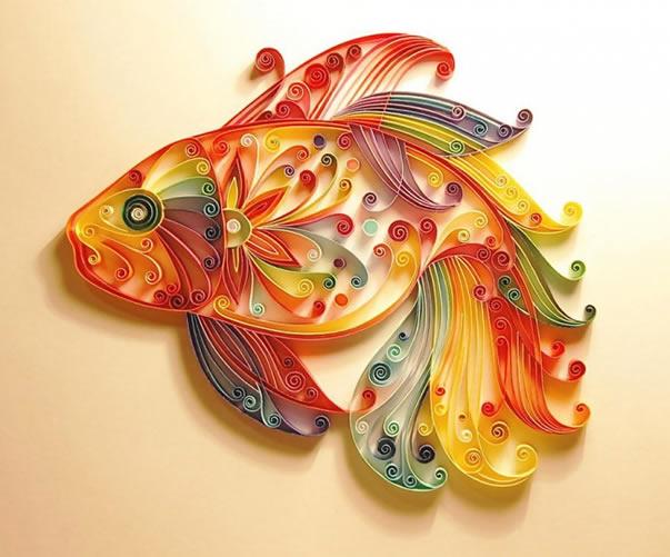 Loja Artesanato Osasco Primitiva Vianco ~ Aprenda como fazer quilling u2013 a arte em papel artesanato com