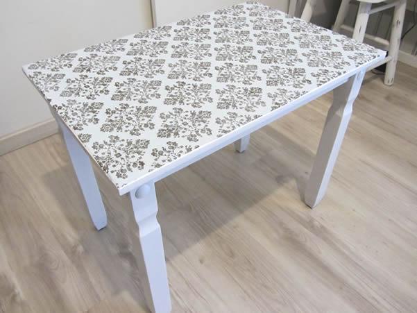 Como pintar una mesa amazing interesting interesting - Lacar una mesa ...