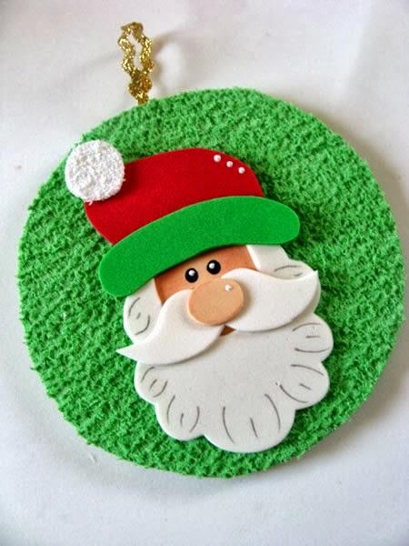 Armario Oficina Puerta Persiana ~ Decoraç u00e3o de Natal com Materiais Recicláveis artesanato com