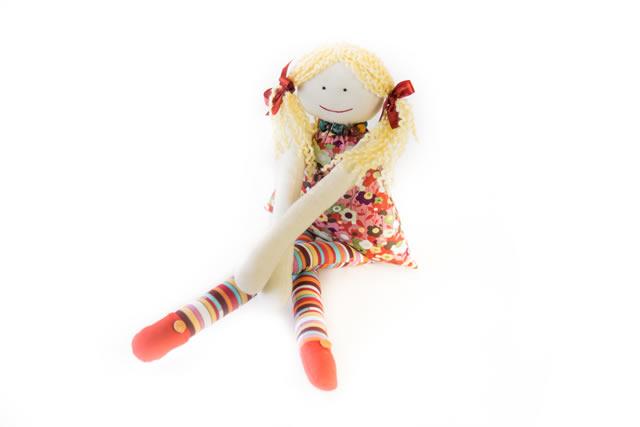 Bonecas de pano Maria Rita