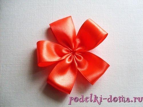 flor de cetim fácil