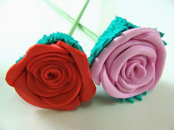 flores de eva simples