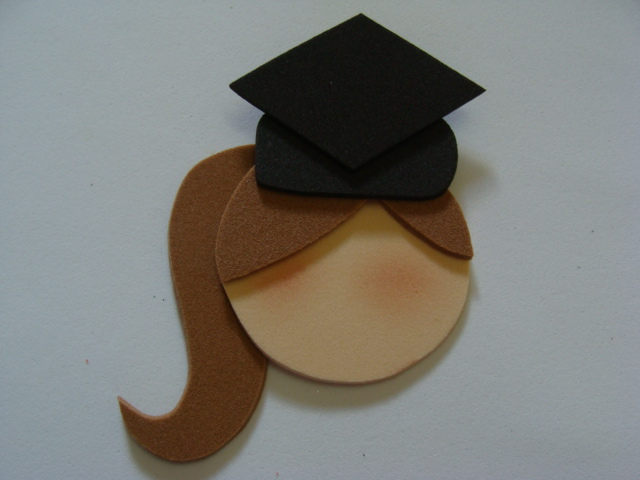 cole o chapéu de formatura