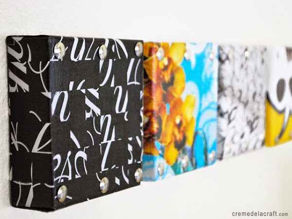 decoração-com-reciclagem-quadros-de-caixa-de sapato