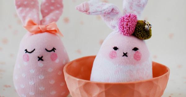 Decoração Aparador Atras Do Sofa ~ Como Fazer Coelhinho Para Lembrancinha de Páscoa artesanato com