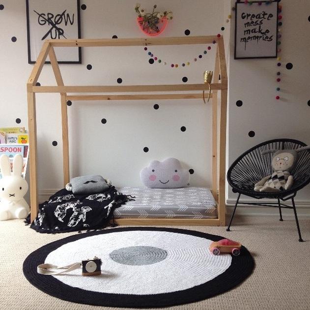 57 Tapetes de Crochê Lindíssimos Pra Você se Inspirar  ~ Tapetes Para Quarto Infantil Em Croche