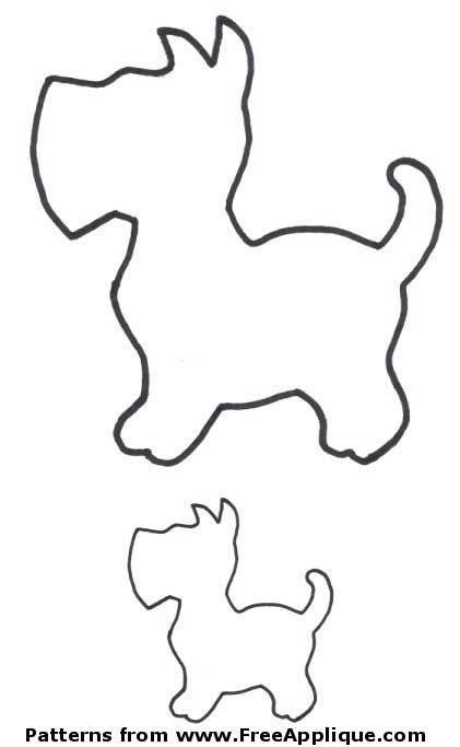 molde-cachorrinhos-para-feltro