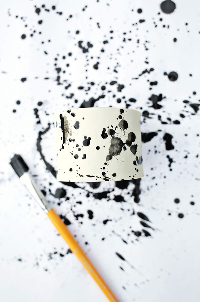 Pintando a argila