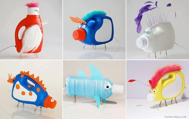 animais-com-embalagem-de-amaciante-reciclada