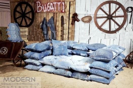 jeans - almofada