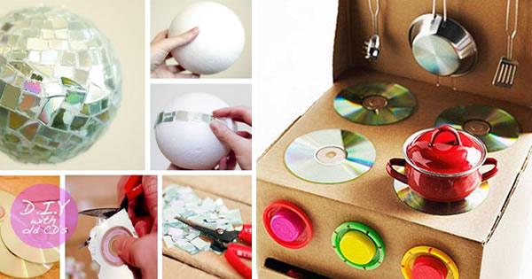 Artesanato Com Cd 15 Ideias Incr 237 Veis Para Voc 234 Fazer