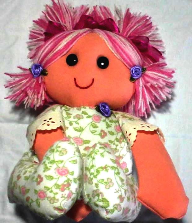 boneca de pano tatá