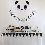 decoração para festa infantil - tema panda