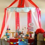 festa de aniversário infantil circo