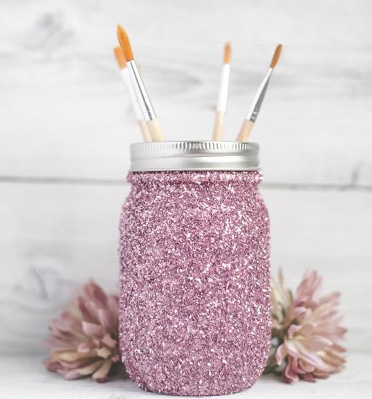 pote-de-vidro-decorado-com-glitter-rosa