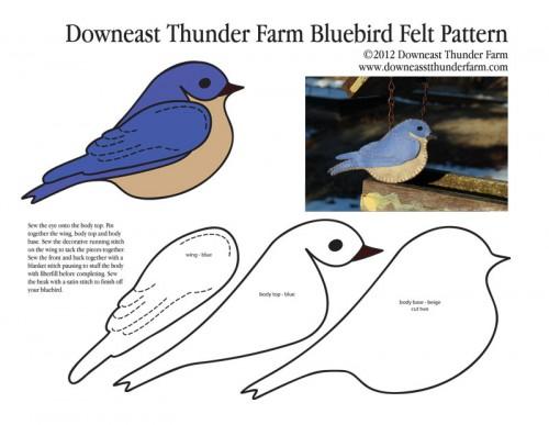 molde-passaro-feltro-azul