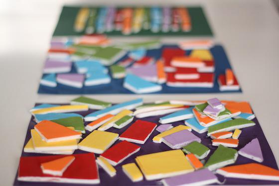 mosaico-com-bandeja-de-isopor