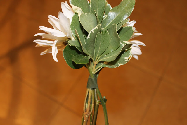 flores com fita floral