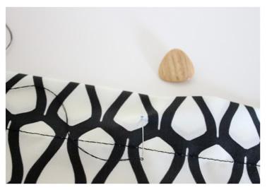 como fazer capa de almofada